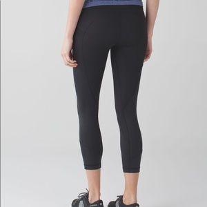 lululemon athletica Pants - Lululemon All The Right Places Crop II- Black
